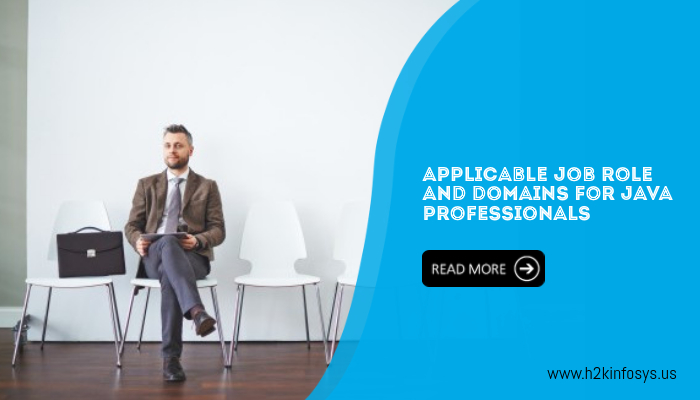 Applicable Job Role And Domains For Java Professionals