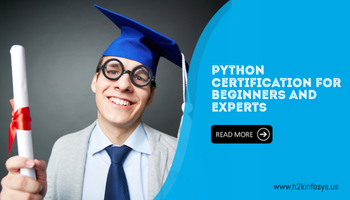 Python certification for beginners and experts