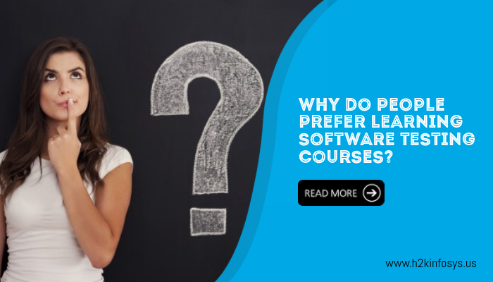 Why Do People Prefer Learning Software Testing Courses?